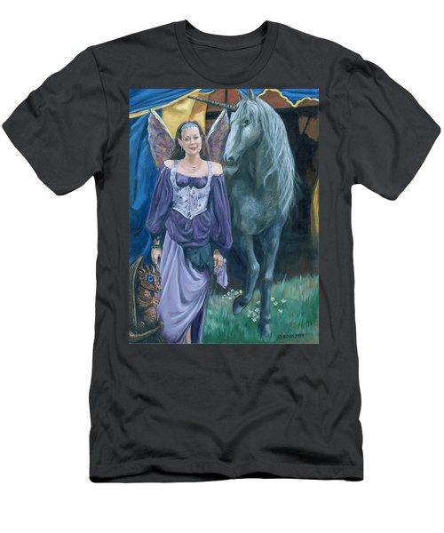Medieval Fantasy Men's T-Shirt (Slim Fit) by Bryan Bustard