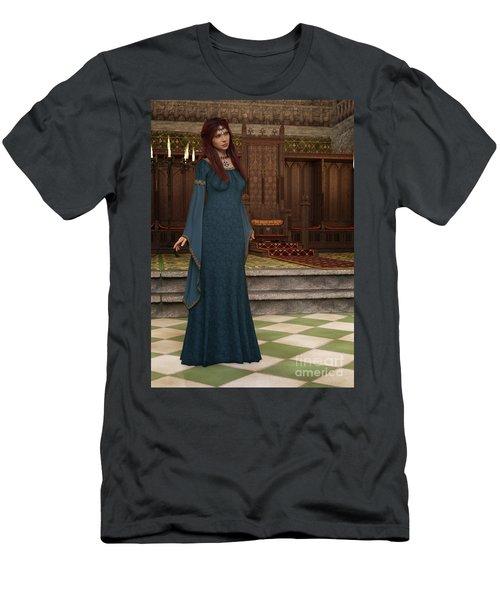 Medieval Queen Men's T-Shirt (Athletic Fit)