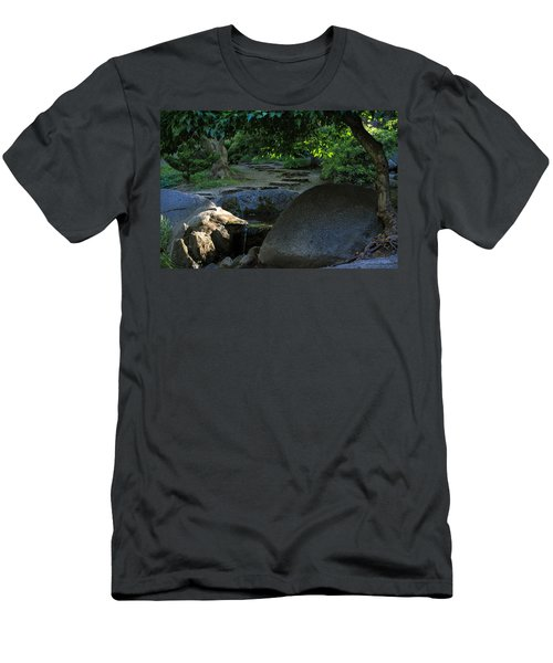 Meditation Path Men's T-Shirt (Athletic Fit)