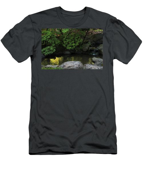 Meditation Pond Men's T-Shirt (Athletic Fit)