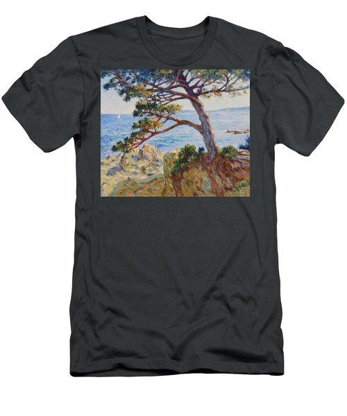 Mediterranean Sea Men's T-Shirt (Slim Fit) by Pierre Van Dijk
