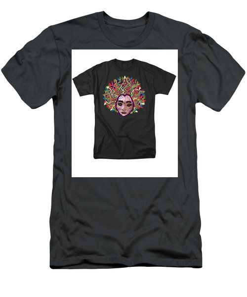 Medusa Bedazzled Tee Men's T-Shirt (Athletic Fit)