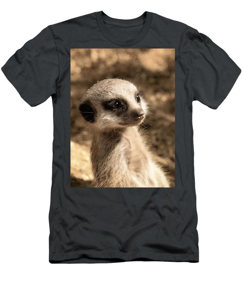 Meerkatportrait Men's T-Shirt (Athletic Fit)