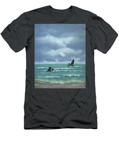 Meet Me At Hatteras Men's T-Shirt (Athletic Fit)