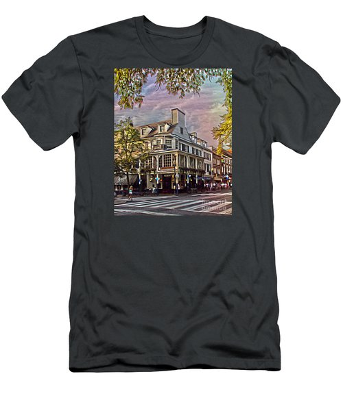 Meet Me At The Corner Men's T-Shirt (Athletic Fit)