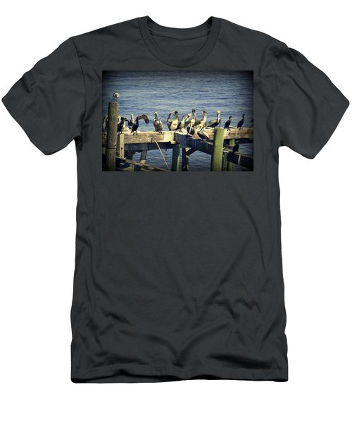 Meeting Of The Minds Men's T-Shirt (Athletic Fit)