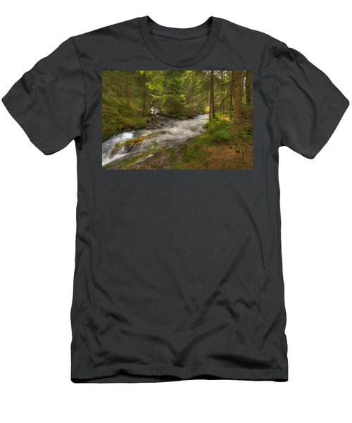 Meeting Of The Streams Men's T-Shirt (Athletic Fit)