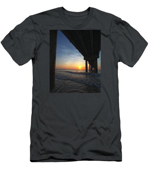 Meeting The Dawn Men's T-Shirt (Slim Fit) by Robert Och