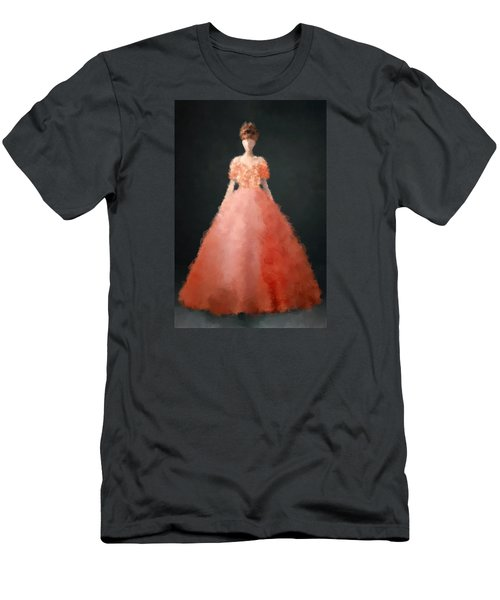 Men's T-Shirt (Slim Fit) featuring the digital art Melody by Nancy Levan