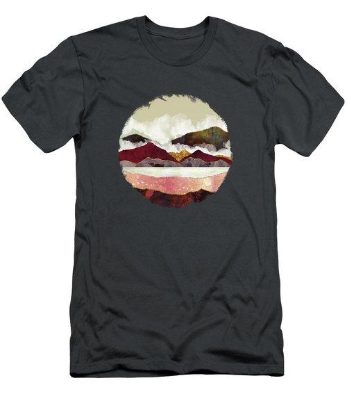 Melon Mountains Men's T-Shirt (Slim Fit) by Katherine Smit