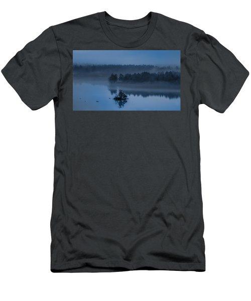 Melvin Bay Blues Men's T-Shirt (Athletic Fit)