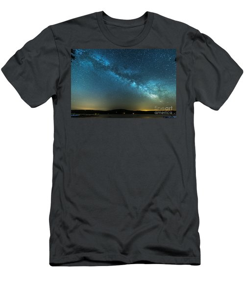 Memorial Day Milky Way Men's T-Shirt (Athletic Fit)