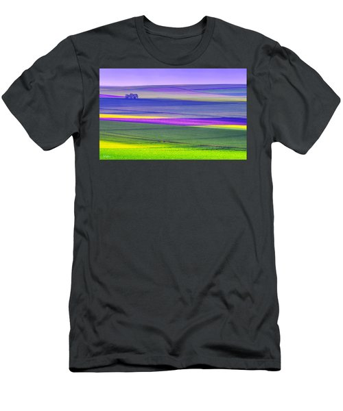 Memories Of Colors Men's T-Shirt (Athletic Fit)