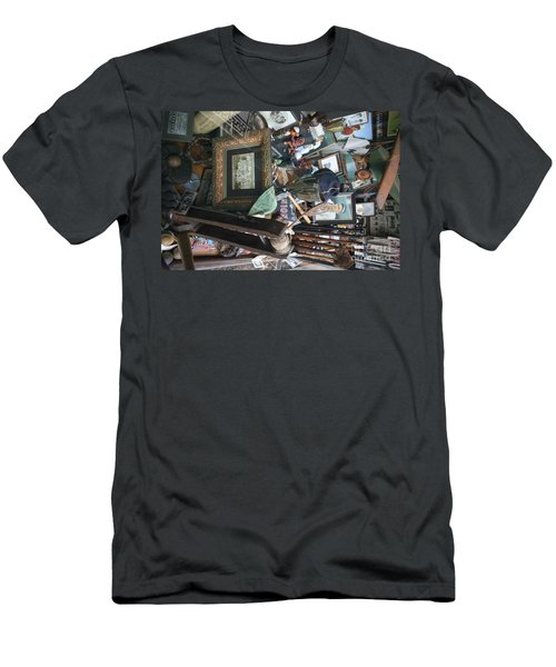 Memories Of The Past Baseball Items  Men's T-Shirt (Athletic Fit)