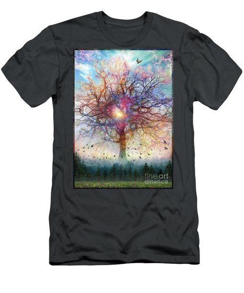 Memory Of A Tree Men's T-Shirt (Athletic Fit)