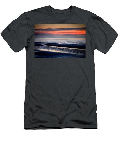 Menai Strait Men's T-Shirt (Athletic Fit)