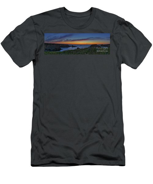 Mendocino Headlands Sunset Men's T-Shirt (Athletic Fit)