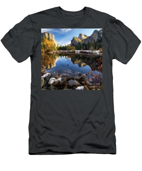Merced Reflections Men's T-Shirt (Athletic Fit)