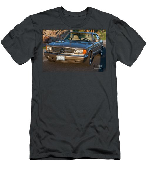 Men's T-Shirt (Athletic Fit) featuring the photograph Mercedes 560sec W126 by Gunter Nezhoda