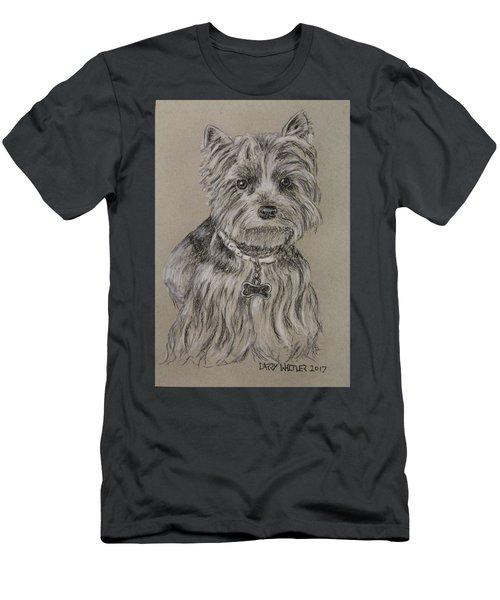 Mercedes The Shih Tzu Men's T-Shirt (Athletic Fit)