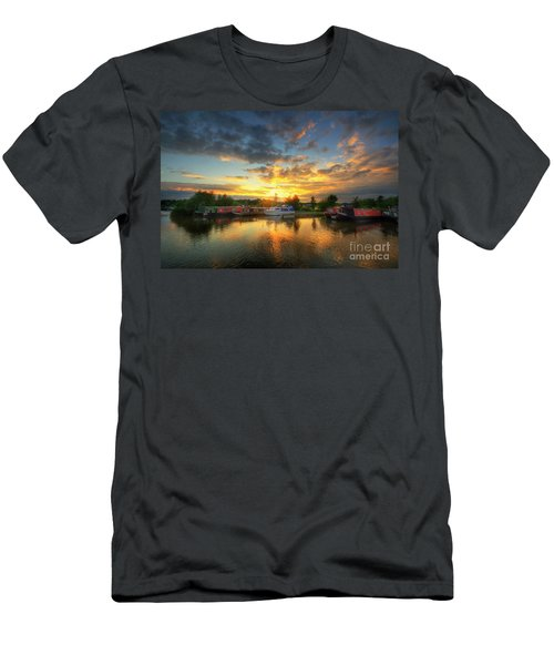Men's T-Shirt (Slim Fit) featuring the photograph Mercia Marina 11.0 by Yhun Suarez