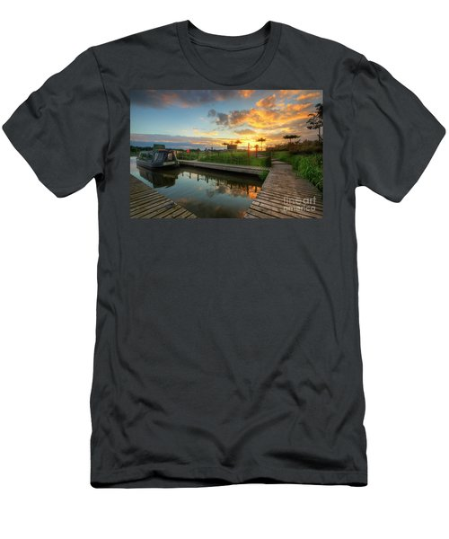 Men's T-Shirt (Slim Fit) featuring the photograph Mercia Marina 13.0 by Yhun Suarez