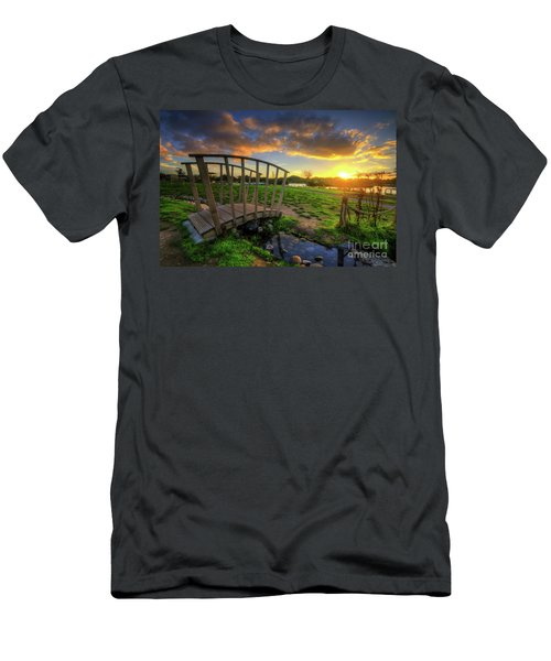 Men's T-Shirt (Slim Fit) featuring the photograph Mercia Marina 16.0 by Yhun Suarez