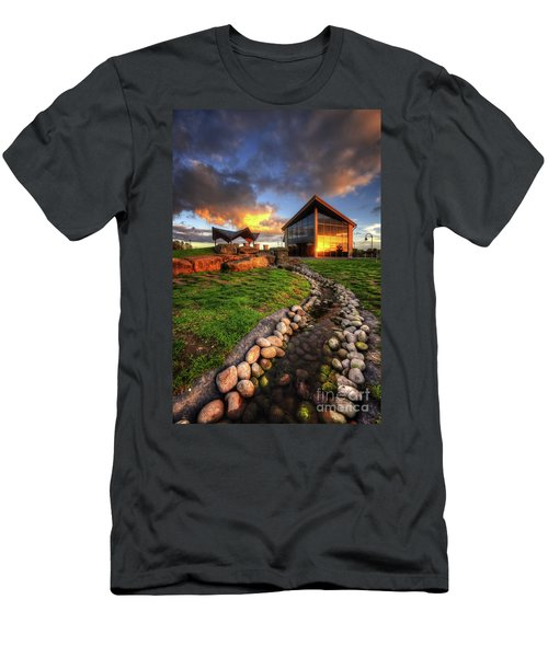 Men's T-Shirt (Slim Fit) featuring the photograph Mercia Marina 17.0 by Yhun Suarez