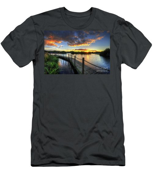 Men's T-Shirt (Slim Fit) featuring the photograph Mercia Marina 18.0 by Yhun Suarez