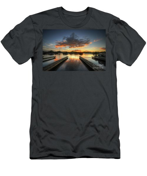 Men's T-Shirt (Slim Fit) featuring the photograph Mercia Marina 19.0 by Yhun Suarez