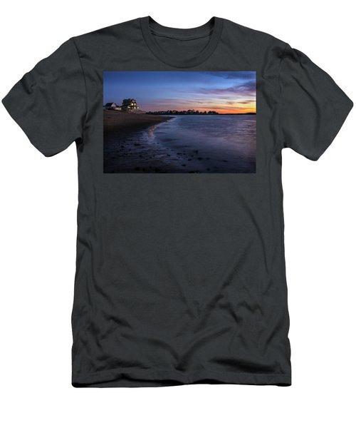 Merrimack River, Plum Island, Ma Men's T-Shirt (Athletic Fit)