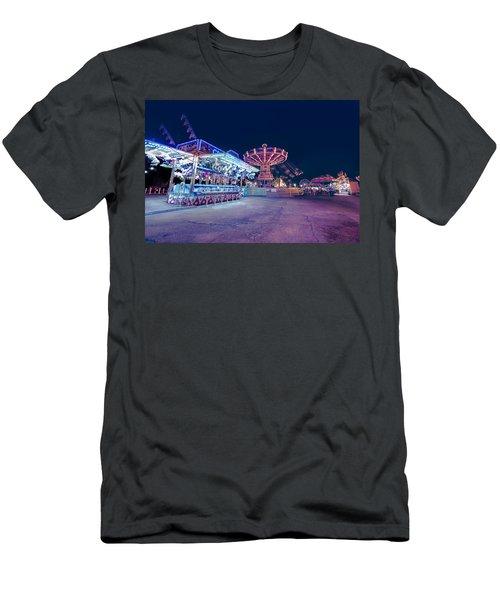 Merry Go Creepy Men's T-Shirt (Athletic Fit)