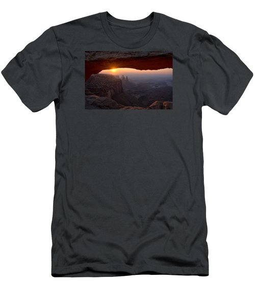 Mesa Arch Sunrise Men's T-Shirt (Athletic Fit)