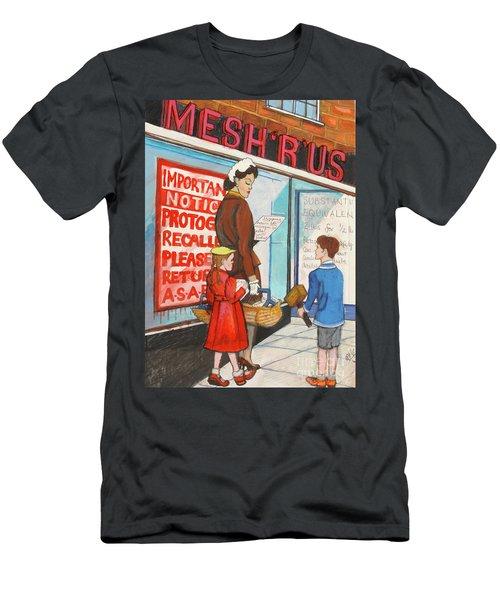 Mesh R Us Men's T-Shirt (Athletic Fit)