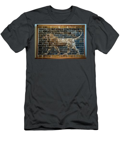 Mesopotamian Lion Men's T-Shirt (Athletic Fit)