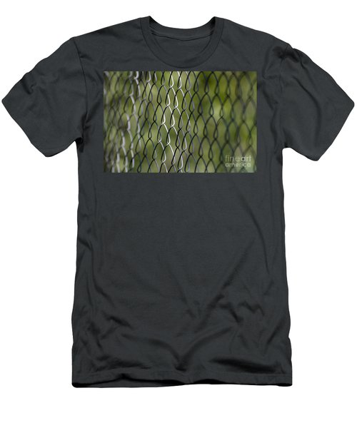 Metal Fence Men's T-Shirt (Athletic Fit)