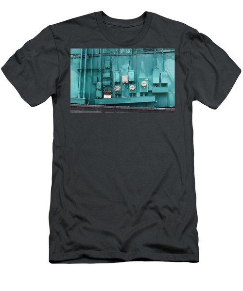 Meter Reader Men's T-Shirt (Athletic Fit)