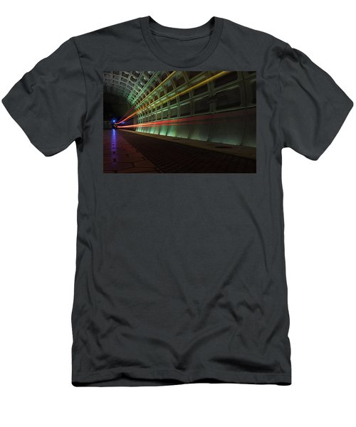 Metro Lights Men's T-Shirt (Athletic Fit)