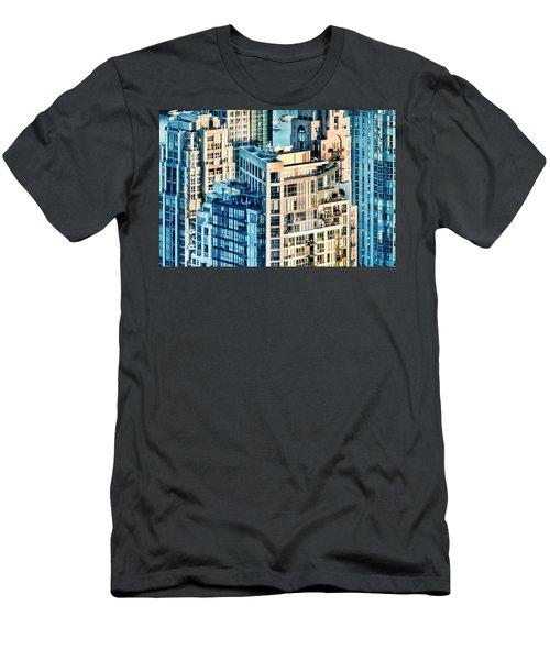Metropolis Men's T-Shirt (Slim Fit) by Amyn Nasser
