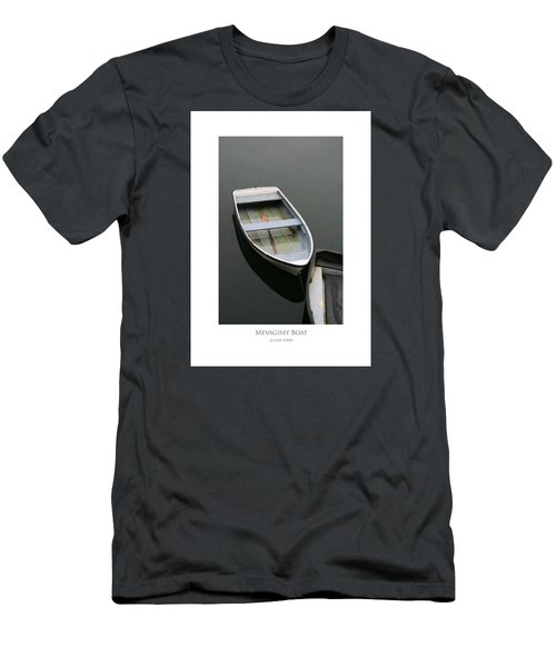 Men's T-Shirt (Athletic Fit) featuring the digital art Mevagissy Boat by Julian Perry