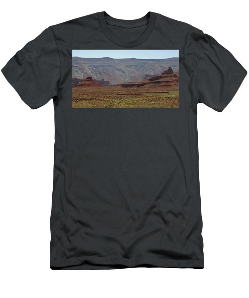 Mexican Hat Rock Men's T-Shirt (Athletic Fit)