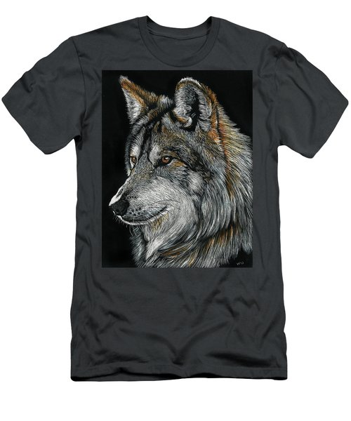 Mexican Wolf Men's T-Shirt (Athletic Fit)