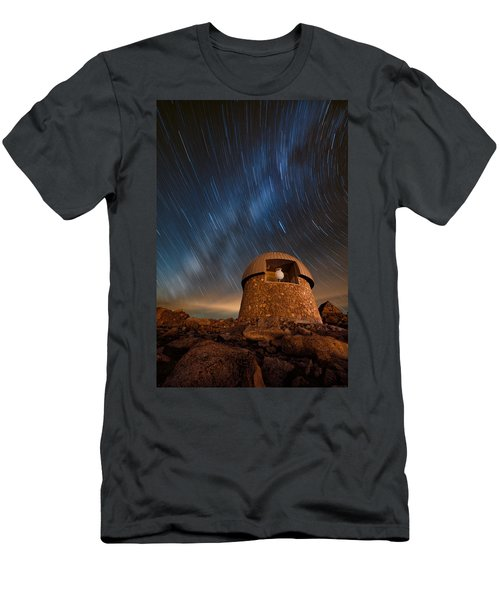 Meyer Womble Star Trails Men's T-Shirt (Athletic Fit)
