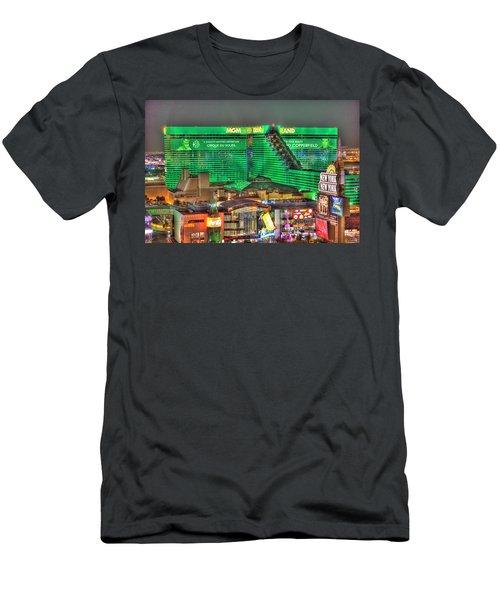 Mgm Grand Las Vegas Men's T-Shirt (Athletic Fit)