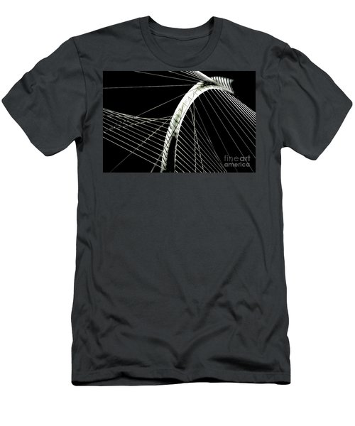 Mhhbridge Morning Fog Men's T-Shirt (Athletic Fit)