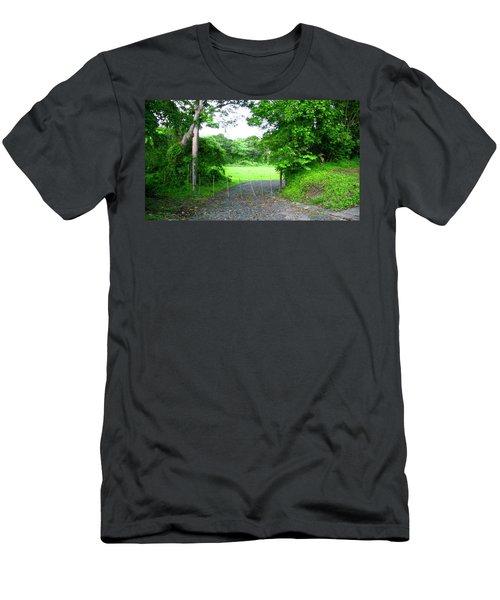 Mi Valle En El Yunque Men's T-Shirt (Athletic Fit)