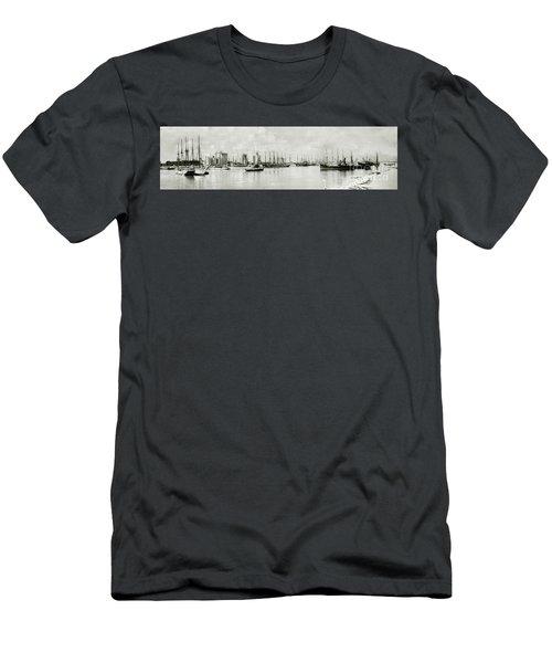 Miami, Florida Circa 1925  Men's T-Shirt (Slim Fit) by Jon Neidert