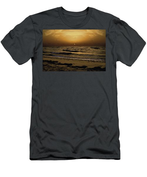 Miami Sunrise Men's T-Shirt (Athletic Fit)