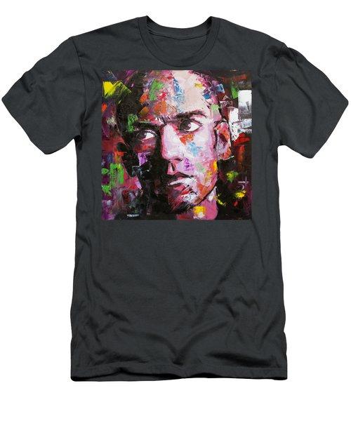 Michael Stipe Men's T-Shirt (Slim Fit) by Richard Day