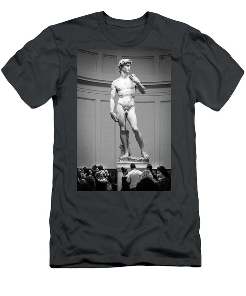 Michelangelo's David Men's T-Shirt (Athletic Fit)
